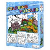 Dinosaurs Coloring Puzzle