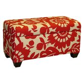 Gerber Cotton Storage Ottoman