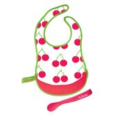 Cherry Delight Travel Bib