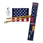 Decorative United States Traditional Flag Set