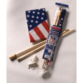 United States Traditional Flag Set