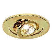 "4"" Wall Wash Trim for Recessed Housing in Polished Brass"