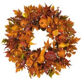 28&quot; Harvest Wreath in Russet and Gold