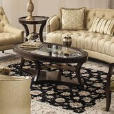 Classic Elegance Coffee Table Set