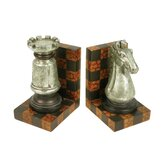 Two Piece Grand Master Bookend Set