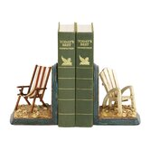Beach Chair Bookend (Set of 2)