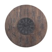 30&quot; Wooden Clock