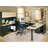 Modular U-shape Executive Desk Office Suite