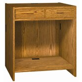 Two Drawer Unit 32.25&quot;-39.75&quot; H x 36&quot; W Extension Desk Return