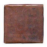 Plain Hammered 2&quot; x 2&quot; Copper Border Tile