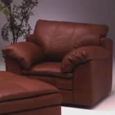Encino Leather Chair and Ottoman