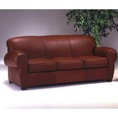 Lyon Club Leather Sofa