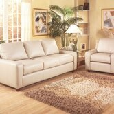 Pacific Heights 3 Seat Leather Sofa Set