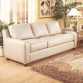 Pacific Heights Leather Sofa