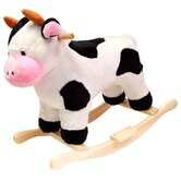 Cow Plush Rocking Animal