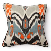 African Mod 18&quot; Ikat Print Pillow