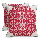 Tribal Cotton / Linen Jolie Accent Pillow