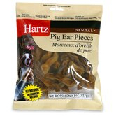 Dental Pig Ear Piece Dog Treat