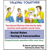 Social Story Bundle Sixteen Pack