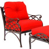 Crossweave Deep Seat Chair with Cushion
