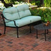 Leon Deep Love Seat with Cushions