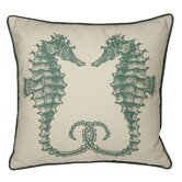 Seahorses South Pacific Decorative Pillow