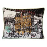 Paris Cafe Decorative Pillow