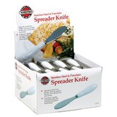Stainless Steel Spreader with Porcelain Handle