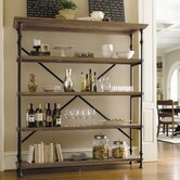 Great Rooms Rack in Distressed Oaken Bucket