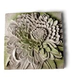 Chrysanthemum Plaque Wall Decor