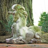 Animals Unicom Fantasy Statue