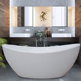 PureScape 170 Freestanding Acrylic Bathtub