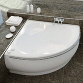 Fame Corner EcoMarmor™ Bathtub with Towel Rail