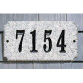 Executive Rectangle Address Plaque