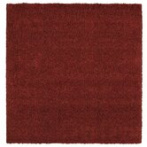 Super Texture Shag Brick Red Meadowland Rug