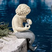 The Ocean's Little Treasures Mermaid Statue