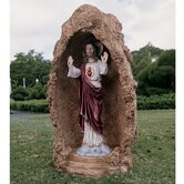 Meditation Grotto of Sorrento Garden Statue