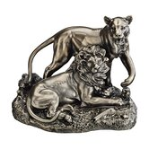 Lion and Lioness: Pride of Place Animal Statue