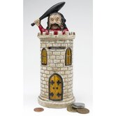 Bracciano Castle Authentic Foundry Iron Mechanical Bank