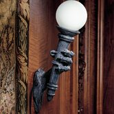 Blackfriar's Gate Wall Torchiere Lamp (Set of 2)