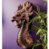 The Fire Dragon Wall Sculpture (Set of 2)