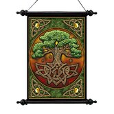Tree of Life Canvas Wall Scroll Tapestry