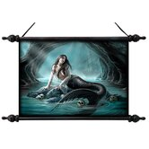 Sirens Lament Canvas Wall Scroll Tapestry