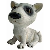 Prized Pup Bull Terrier Puppy Dog Statue