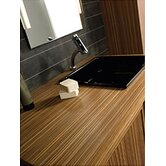 Aeri Wood Unit with Counter Top