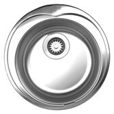 Noah's 6.5&quot; Round Drop-in Kitchen Sink