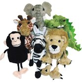 African Animals Finger Puppet (Set of 6)