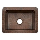 Cocina Chica Hand Hammered Copper Kitchen Sink