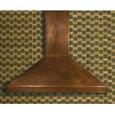 Hand Hammered Copper Range Hood