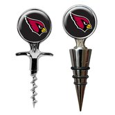 NFL Cork Screw and Wine Bottle Topper Set